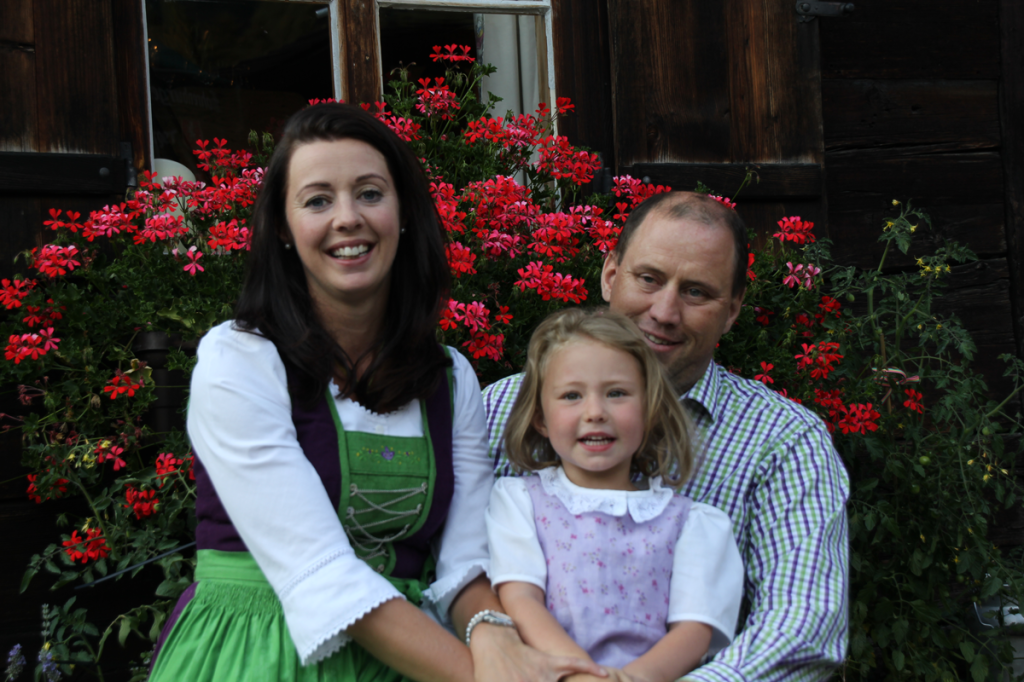 Welcome to Maria, Bernd and Viktoria in Lech
