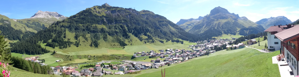 Panorama View, Pension Bergland, Lech Arlberg